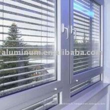 Lamelle profilée en aluminium