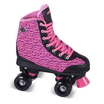 Мягкая роликовая коньковая обувь для взрослых (QS-42)