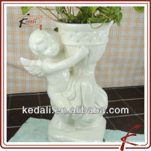 China Fábrica de porcelana de cerámica de jardín de Navidad decoración del hogar flor