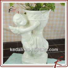 China Fábrica de porcelana de cerâmica Jardim Natal Decoração Home Flower Pot