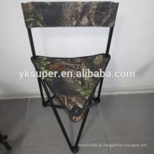 Cadeira de pesca Camo, cadeira de pesca dobrável