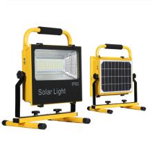 50W100W150W200W300W wiederaufladbares Solar-Flutlicht