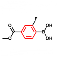 2-FLUORO-4-(METHOXYCARBONYL)BENZENEBORONIC ACID CAS 603122-84-5