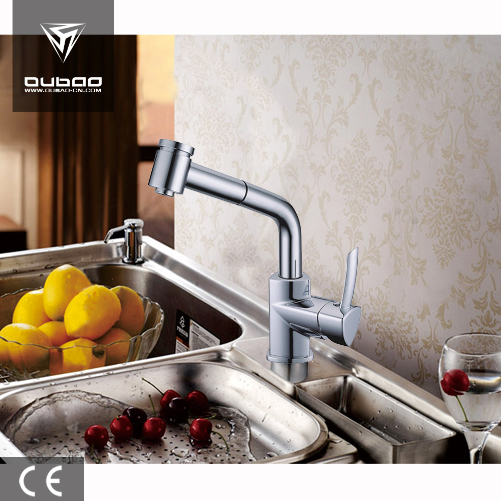 Sink Mixer with Pull-Out Shower