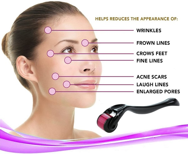 derma face needle roller