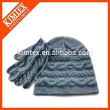 Sublimation print logo Acrylique Bonnet en tricot de qualité supérieure