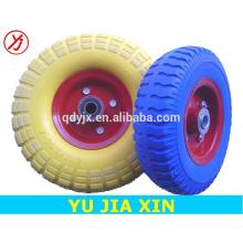 small pu foam rubber wheels 4.10/3.50-4