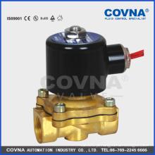 Elevação directa 0 pressão NC 2 vias de latão Válvula solenóide de 3/8 ''