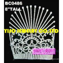 fashion rhinestone pageant crowns
