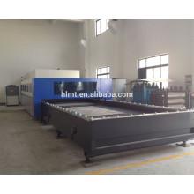 500w / 1000w máquina de corte del laser de la fibra del acero inoxidable para el procesamiento de la hoja de metal / elevadores
