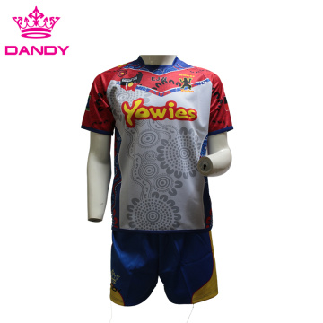 Hochwertiges Sublimations-Rugby-Shirt