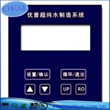Troca de membrana de amostra livre com sobreposição gráfica fabricada na China