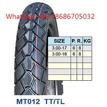 High Proformance Motorcycle Tire 3.00-17 3.00-18