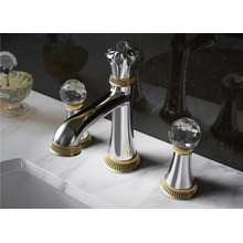 Luxury Two Handles Washbasin Mixer and Faucet (DH40)