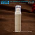 ZB-QU Serie 15ml 30ml 50ml Runde Flasche quadratische Kappe Lotion/Spray airless Pumpen alle weißem pp airless Lotion Plastikflasche