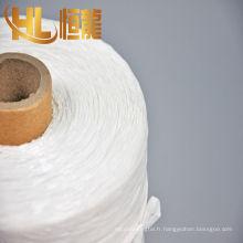 fil fibrillé pp / bonne qualité câble blanc pp remplisseur