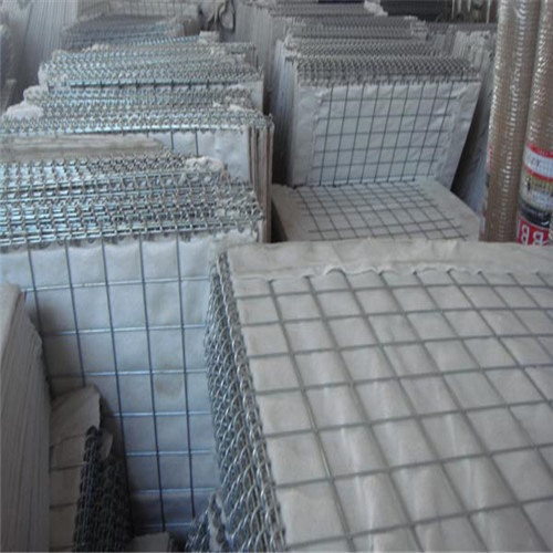Hesco type military barrier