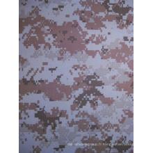 Fy-DC11 600d Oxford Polyester Printing Tissu de camouflage numérique