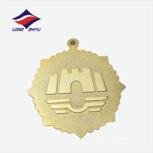 Cadeaux de haute qualité Shezhen fournisseurs médaille de métal plaqué or