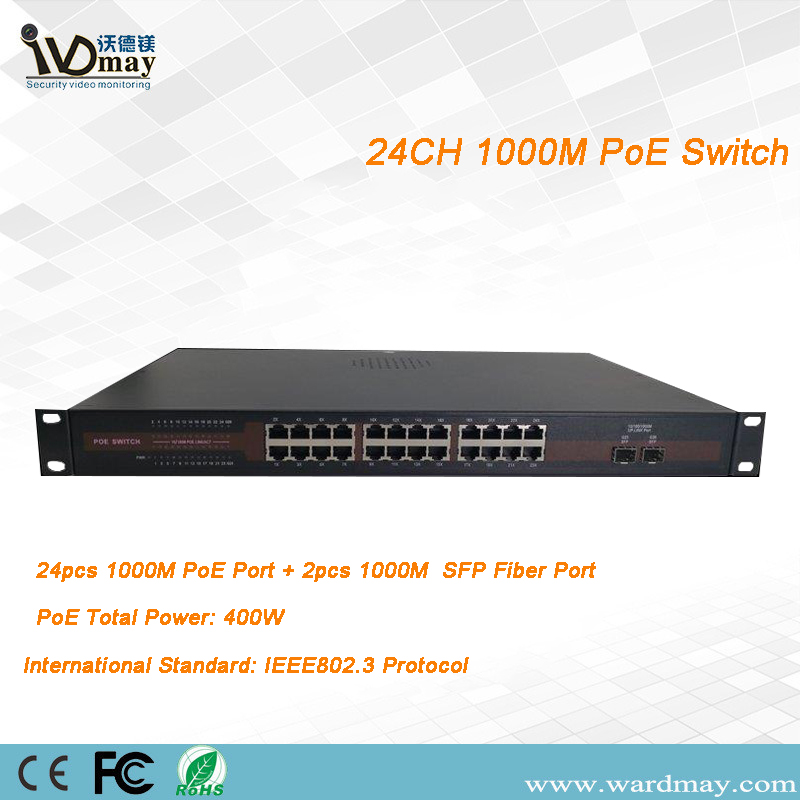 24chs Full 1000m Poe Switcher