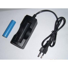 Europe Plugscabled Charger for 18650/14500 Battery