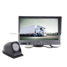 Super Quality 7-inch Car Rearview LCD Panel, Remote Control, OSD Menu, Sunshade Design, Speaker