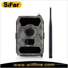Эксплуатируемый батареей детектор движения pir открытый беспроводной камеры 3G для охоты и безопасности