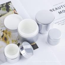 Frasco colunar de plástico para cuidados com a pele personalizado