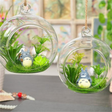 "3"" Hanging Glass Globe Ball Candle Holders  Plant Glass Terrariums"