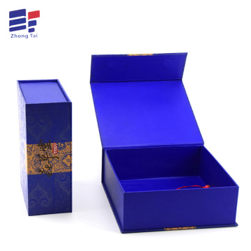 ODM for Craft Packing Paper Box Attractive Custom logo  Book shape Paper Box supply to United States Importers