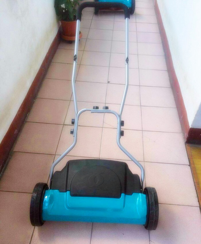 hand push reel lawn mower