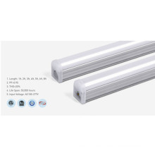 Lámpara de tubo de aluminio regulable T5 3000K 8Ft LED