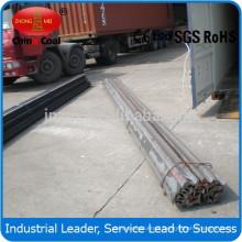 U71Mn/U71 QU70,QU80,QU100,QU120 steel rail crane rail