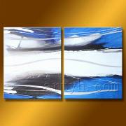 New Design Abstract Oil Painting on Decor