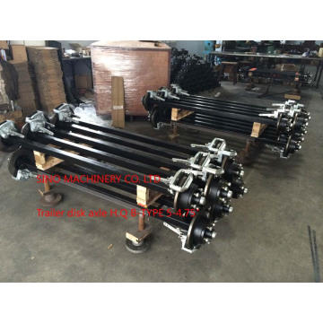 Trailer Disk Hub Axle for Australia Market