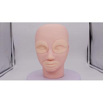 Cabeça de manequim de maquiagem 3D