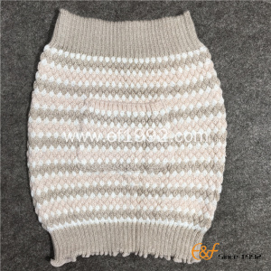 Girl's Acrylic Yarn Knitted JaHaramaki with Pocketguard