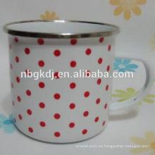 taza del tubo del esmalte taza del tubo del esmalte de Japón japón