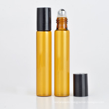 10ml Empty Roll on Glass Bottles for Cosmetic Essential Oil Packaging