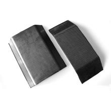 lámina acrílica de fibra de carbono