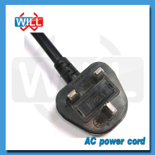BS 3 broches de cordon d'alimentation secteur câble d'alimentation uk prix d'usine