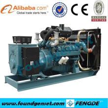 CE approved 68KW Doosan diesel industrial generator price