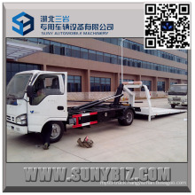 Full Landing Isuzu 0 Degree 9 Ton Flatbed Wrecker