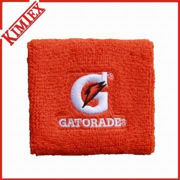 Fashion Cheap Promotion Cotton Terry Sports Sweatband