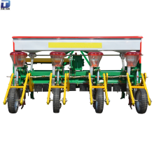 Zero tillage 3-point hitch corn planter with fertilizer