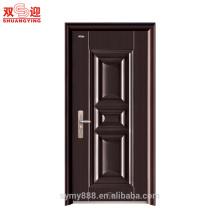 La puerta principal de la casa de seguridad de acero diseña puertas de entrada de acero