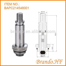 Edelstahl 14,5 mm OD Solenoid Wasser Ventil Teile als Solenoid Armatur Montage