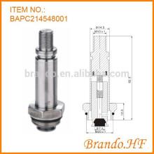 Acero inoxidable 14.5 mm OD Solenoide Válvula de agua como piezas Solenoid Armature Asamblea