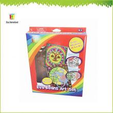 Kinder DIY Malerei Handwerk und Geschenk, Großhandel EVA Bohnen Kids Craft Kits gesetzt