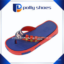 Promotional Heat Transfer Printing EVA Cartoon Flip Flop